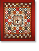 photo of medallion quilt